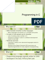 Programming in C - 01 - Introduction