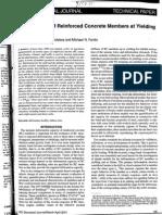 Panagiotakos Fardis - Deformations of RC Members at Yielding and Ultimate