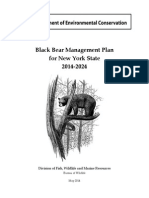 NYSDEC bear hunting plan