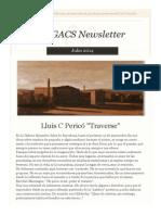 Newsletter Nº 21 Julio 2014