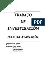 TRABAJO de Los Atacameños