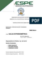 Informe Galga