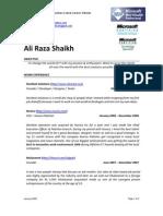 Ali Raza Shaikh[1]