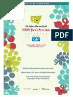 SMH NSWFoodWine Program
