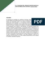 Determinacion de La Toxicidad de El Producto Mister Musculo en La Germinacion de Semillas de Lechuga (Autoguardado)