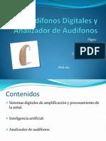 Clase Audífonos Digitales - Analizador de Audífonos