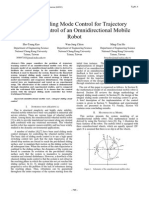 Integral Sliding Mode Control for Trajectory Tracking Control of an Omnidirectional Mobile Robot