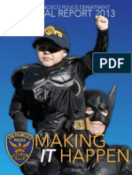 SFPD 2013 Annual Report July 30 2014