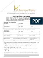 employment application arc new