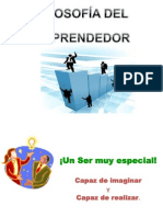 EMPRENDEDOR - FILOSOFÍA