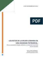 Los Retos de La Mujer Lesbiana en Una Sociedad Patriarcal1