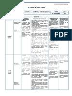 Artes Visuales Planificacion - 3 Basico