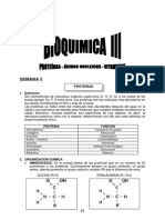 Semana 5 - Bioquímica III