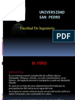 Exposicion Sobre El Yeso...