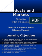 Products and Markets