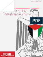 Palestinian Authority Corruption
