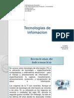 Tecnologias de Informacion Daniel Davila