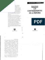 HASSOUN - Los Contrabandistas de La Memoria- Intro y Una Ética de La Transmisión