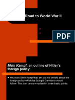 The Road to WWII - Hitler's foreign policy & the policy of Appeasement