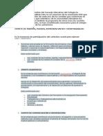 Propuesta de Los Comités Del Consejo Educativo Del Colegio La Concepción de Montalbán Este Es Un Resumen de La Resolución 058 Que Contiene La Descripción de Cada Uno de Los Comités Que Conforman El Consejo Educativo y Qué Mi