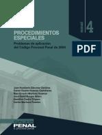 28 Procedimientos Especiales. Problemas de Aplicacion Del Codigo Procesal Penal de 2004
