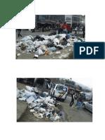 Ubicación de Los Focos de Contaminación Por Medio de Basuras en La Localidad de Usme
