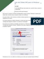 Manual Instalacion Global IME