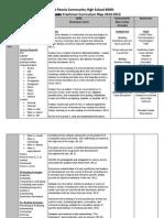 academic freshman curriculum map 2014-2015