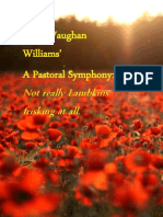 "Ralph Vaughan Williams' ""A Pastoral Symphony"""
