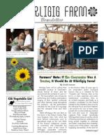 Whirligig Farm Newsletter Issue 3