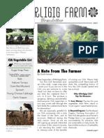 Whirligig Farm Newsletter Issue 2