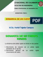 Dinamica de Cuerpo Rigido - 2011-i