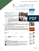 22- 07 -14 Envía Fundación Cano Vélez ayuda a damnificados en Vícam