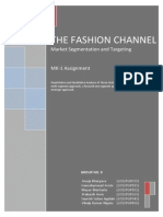106024024 the Fashion Channel Case Analysis