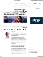 Wait for Perfect or Charge Forward_ Lessons From Lyft's Controversial NYC Launch. _ Entrepreneur