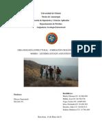 Geologia Estructural Formaciones en Cerro El Morro