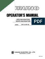 GP31 GP36 Operator's Manual K