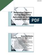 3. Legislação SSO