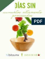 (MANUAL) HÁBITOS - 5 Días Sin Alimentos Procesados