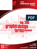 FREE - Top 200 Graphic Design Terms Reference Guide