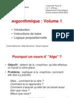 Cours Initiale d'Algorithmes