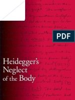 (B3279.H49A39 2009) Heidegger's Neglect of the Body (Kevin a. Aho)
