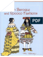 French Baroque and Rococo Fashions