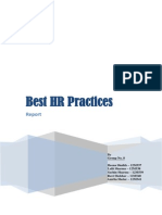 HR Practices Report