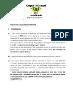 Reglas Copa Futsal Avellaneda