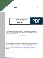 toshiba 37hl95 service manual rh scribd com Toshiba TV Parts Chrysler 300 Radio