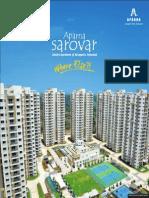 Sarovar Flyer brochure