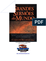 Clarence E. Macartney - Grandes Sermões Do Mundo