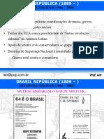 Aula de Historia - Ditadura Militar 64