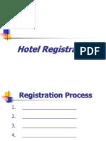 Hotel Registration